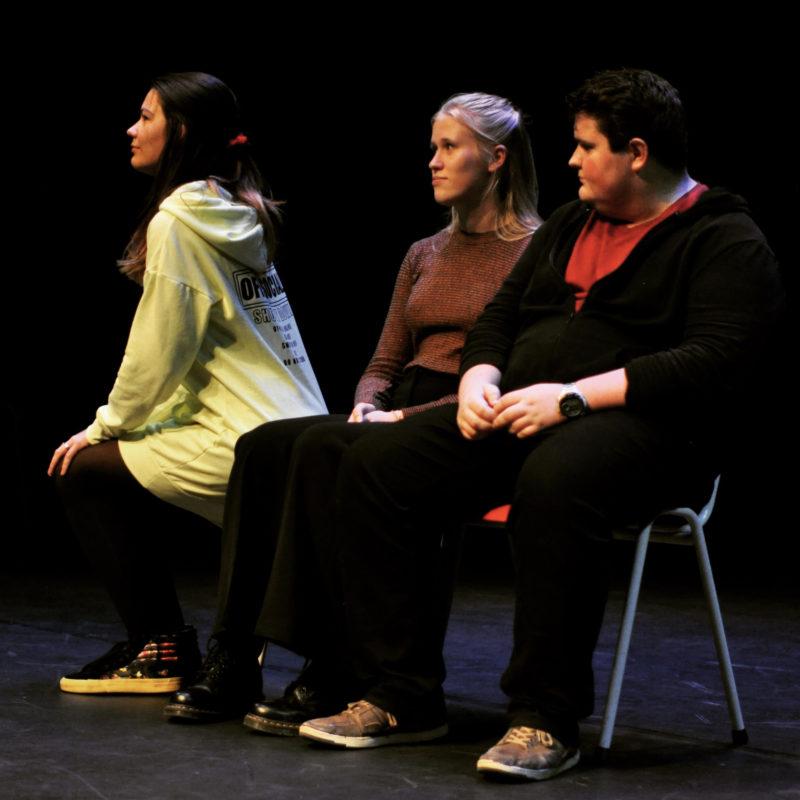 samen alleen, theatertekst van Iris Stam